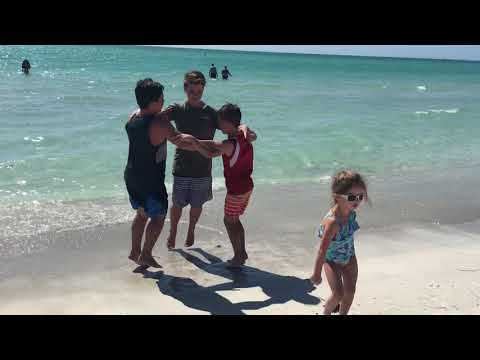 Triangle Challenge - When Little Sister Wants To Dance At The Beach
