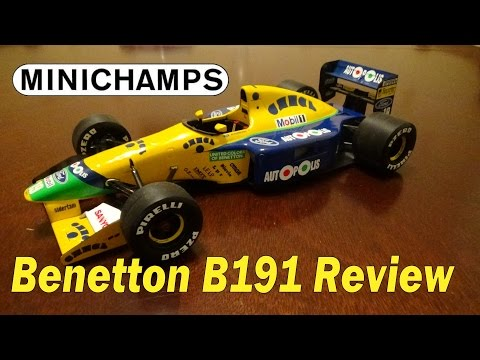 Minichamps Review, Benetton B191 1/18 (1991)