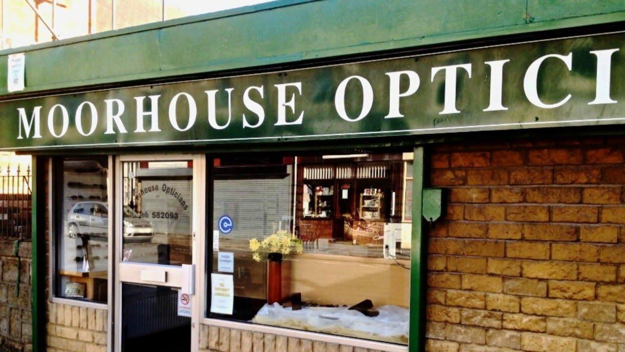 b86550d7764c Moorhouse Opticians - YouTube