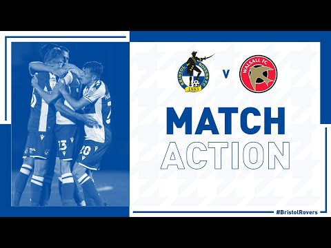 Bristol Rovers Walsall Goals And Highlights