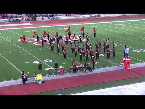Mt Healthy High School Marching Band at Wayne Halftime USA 2017