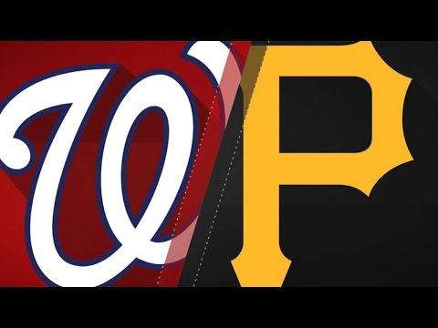 5/18/17: Frazier's four RBIs lead Pirates past Nats