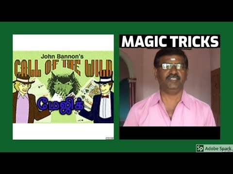 MAGIC TRICKS VIDEOS IN TAMIL #420 I CALL OF THE WILD from JOHN BANNON @Magic Vijay
