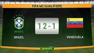 Brazil (12-1) Venezuela - EA Sports 15 - International Full Match - iamMHMunna