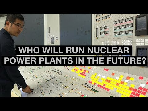 Who will run nuclear power plants in the future?