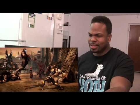 MORTAL KOMBAT X - Kombat Pack 2 Gameplay  REACTION!!! |