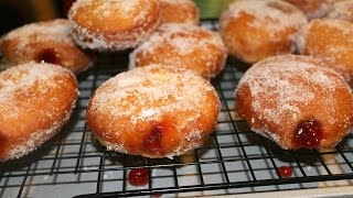 How To Make Jelly Doughnuts - Donuts - In The Kitchen With Jonny Episode 23