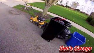 LIVE Trash Picking 2015 - Cub Cadet Lawn Mower!