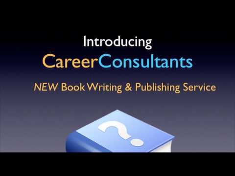 Career Consultants - New Book Writing & Publishing Service