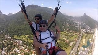 ? Voo parapente George Rio de Janeiro 2013