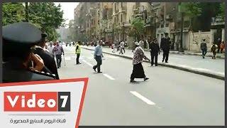 بالفيديو..إعادة فتح شارع القصر العينى أمام المارة عقب مغادرة الملك سلمان مقر مجلس النواب