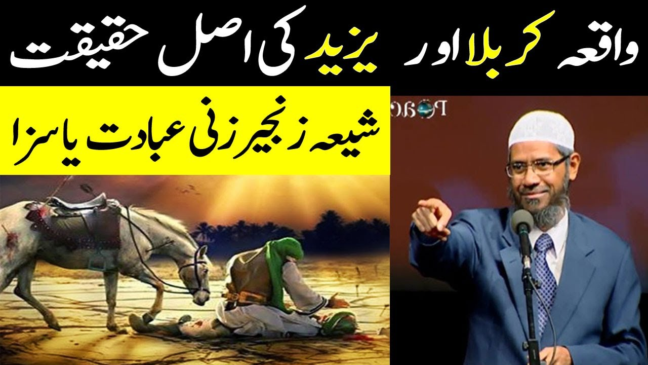 Download Reaction on Dr Zakir Naik About Yazeed & Waqia Karbala