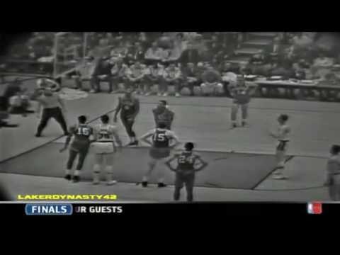 Jerry West & Elgin Baylor 1963 Finals: Gm 6 vs. Boston Celtics, 60/15/17 COMBINED