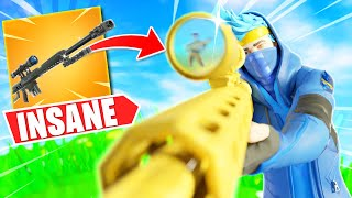 NINJA POPS OFF WITH THE HEAVY SNIPER IN FORTNITE SOLOS!