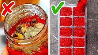 36 SUPER EASY KITCHEN HACKS