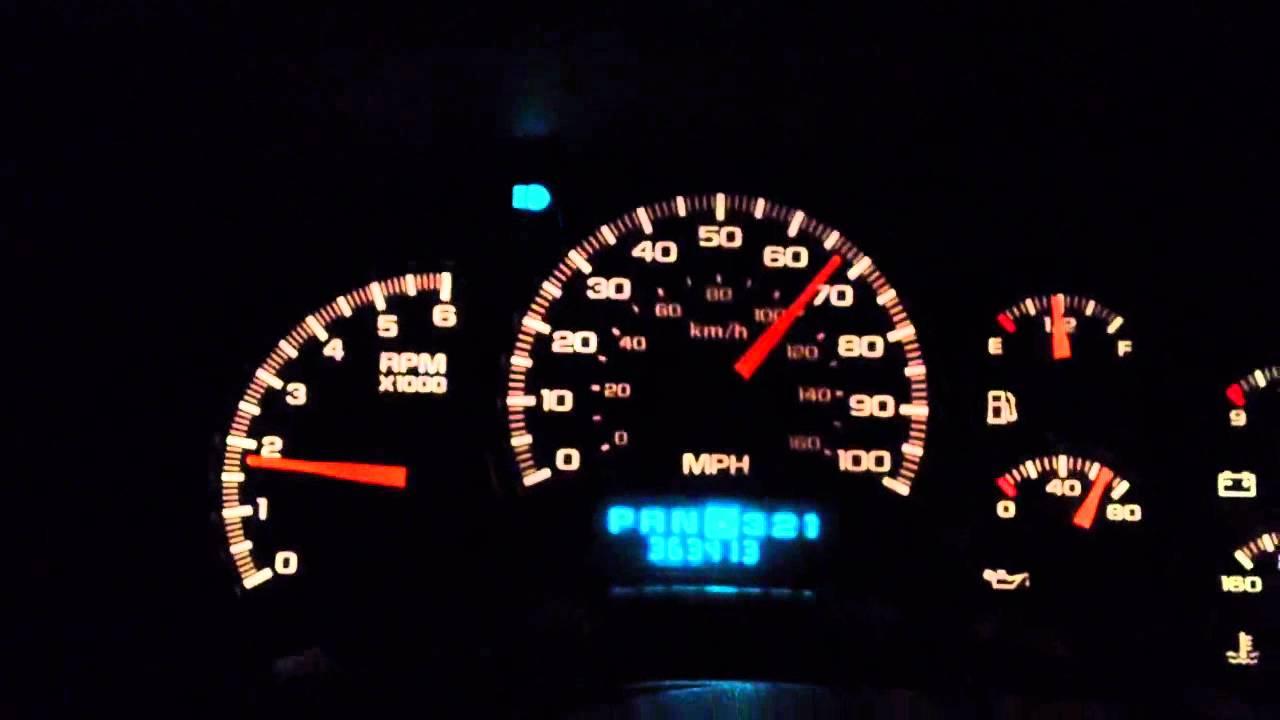2000 Suburban 0 Top Speed