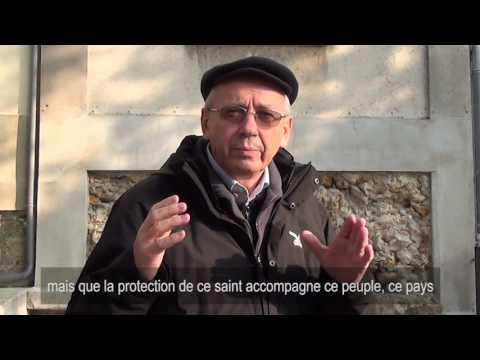 Mosaïque de sainte Geneviève - Interview du père Marko Rupnik, artiste théologien