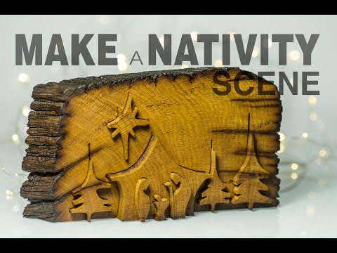 How to make a Nativity Scene