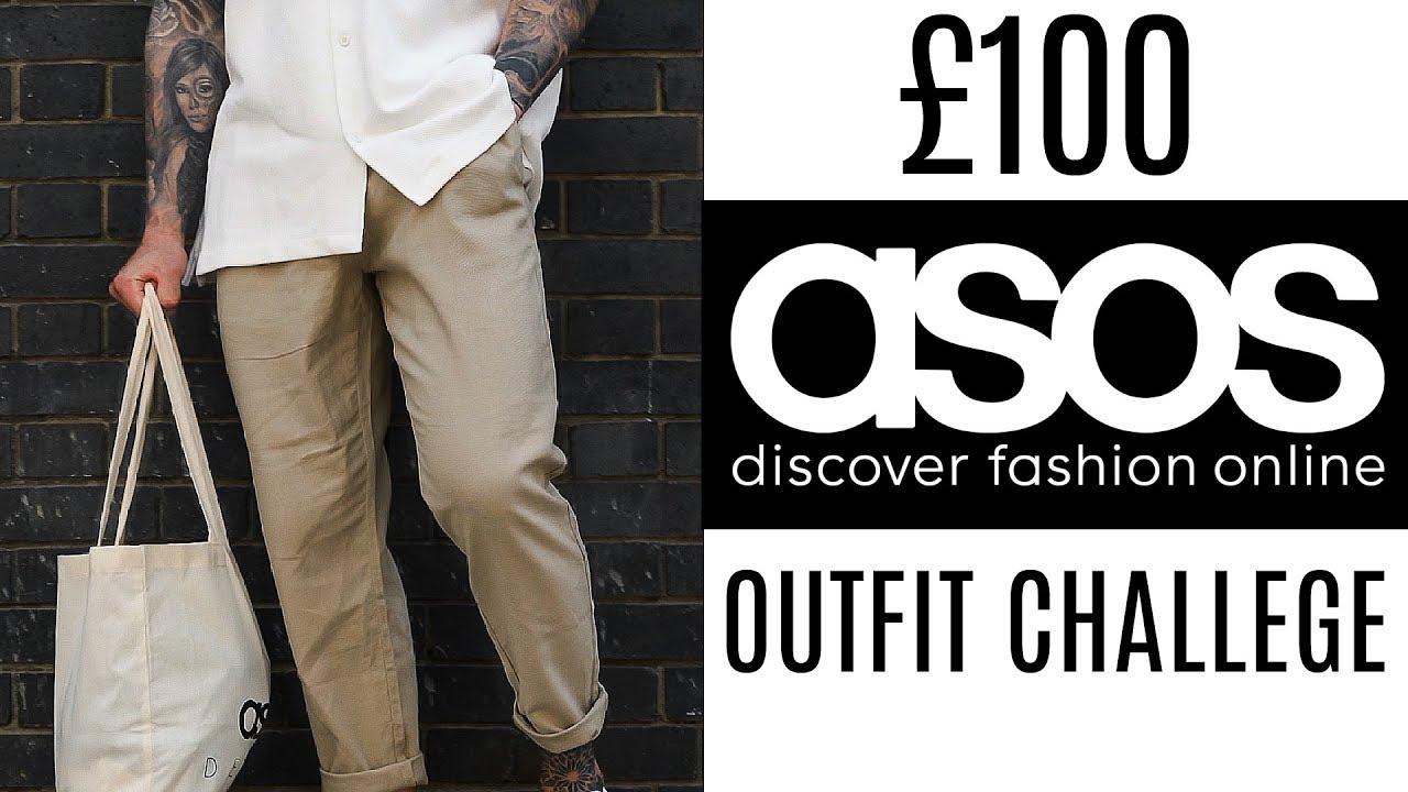 7041a4a4f 100 ASOS SUMMER OUTFIT CHALLENGE | Men's Fashion 2019 - YouTube