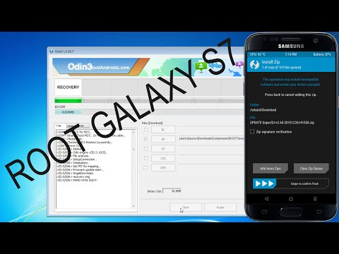 How To Root Galaxy S7 - Root/Unroot Galaxy S7