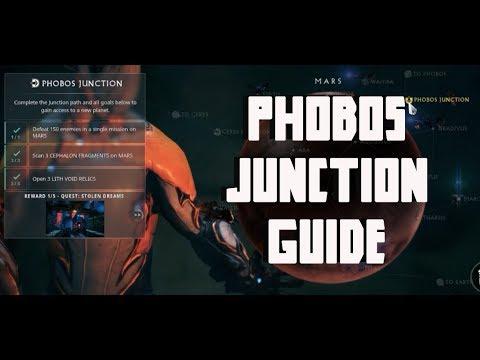 warframe Phobos Junction guide 2019   Scan Cephalon Fragments