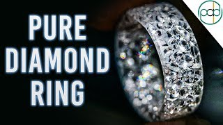 Making a Diamond Resin Ring (Solid Diamond Ring) YouTube Videos