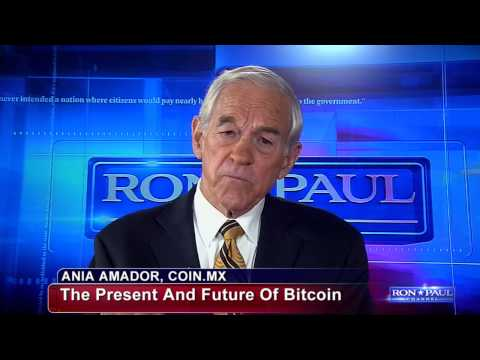 Bitcoin Interview With Ron Paul And Coin.mx - Part 1