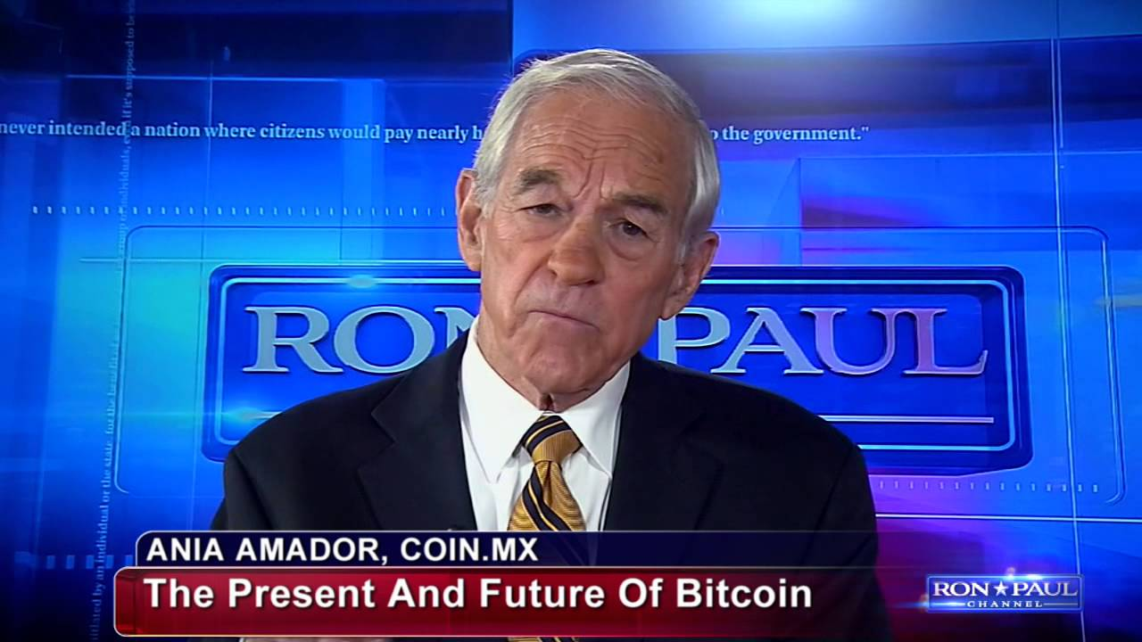 bitcoin interview with ron paul and coin mx part 1 youtube