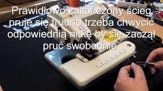 видео Швейная машина Union 122