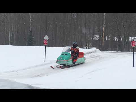 Vintage Snowmobile 'Fun Run' Merrill, Wis. 2018