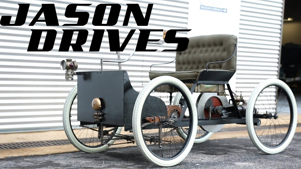 Driving The First Crappy Car Ford Ever Built | Jason Drives - YouTube