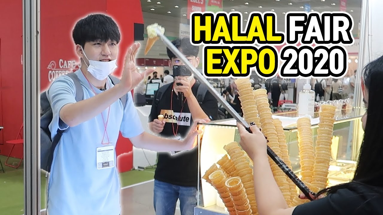 Visiting Halal Expo 2020 with Muslim friends?!
