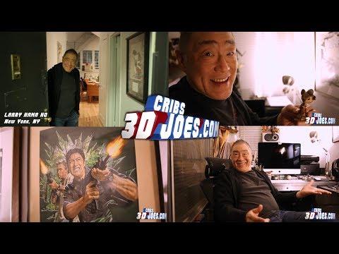 3DJoes Cribs: Larry Hama HQ