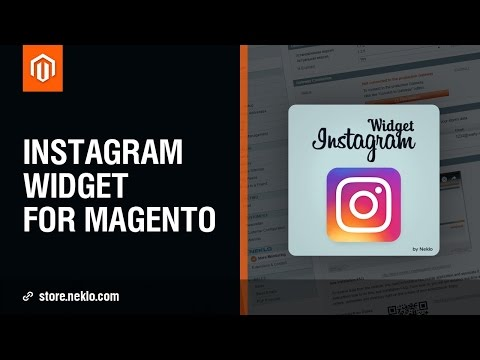 Instagram Integration Widget for Magento 1