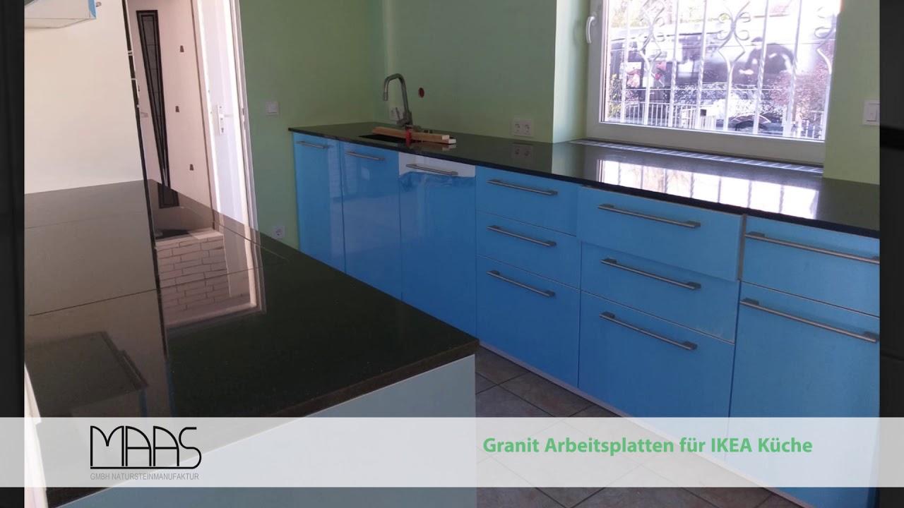 Köln IKEA Küche mit Star Galaxy Granit Arbeitsplatten ...