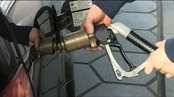 Wie kann ich: Autogas tanken - Tanken Anleitung am Auto - Tanken von Gas ins Auto