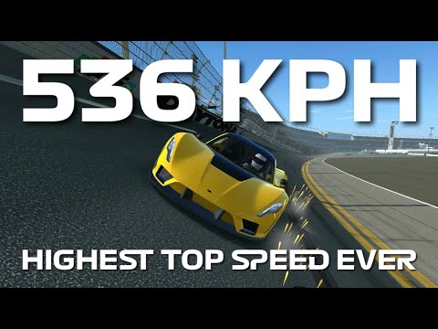Highest Top Speed Ever Recorded – 536 kph – Hennessey Venom F5