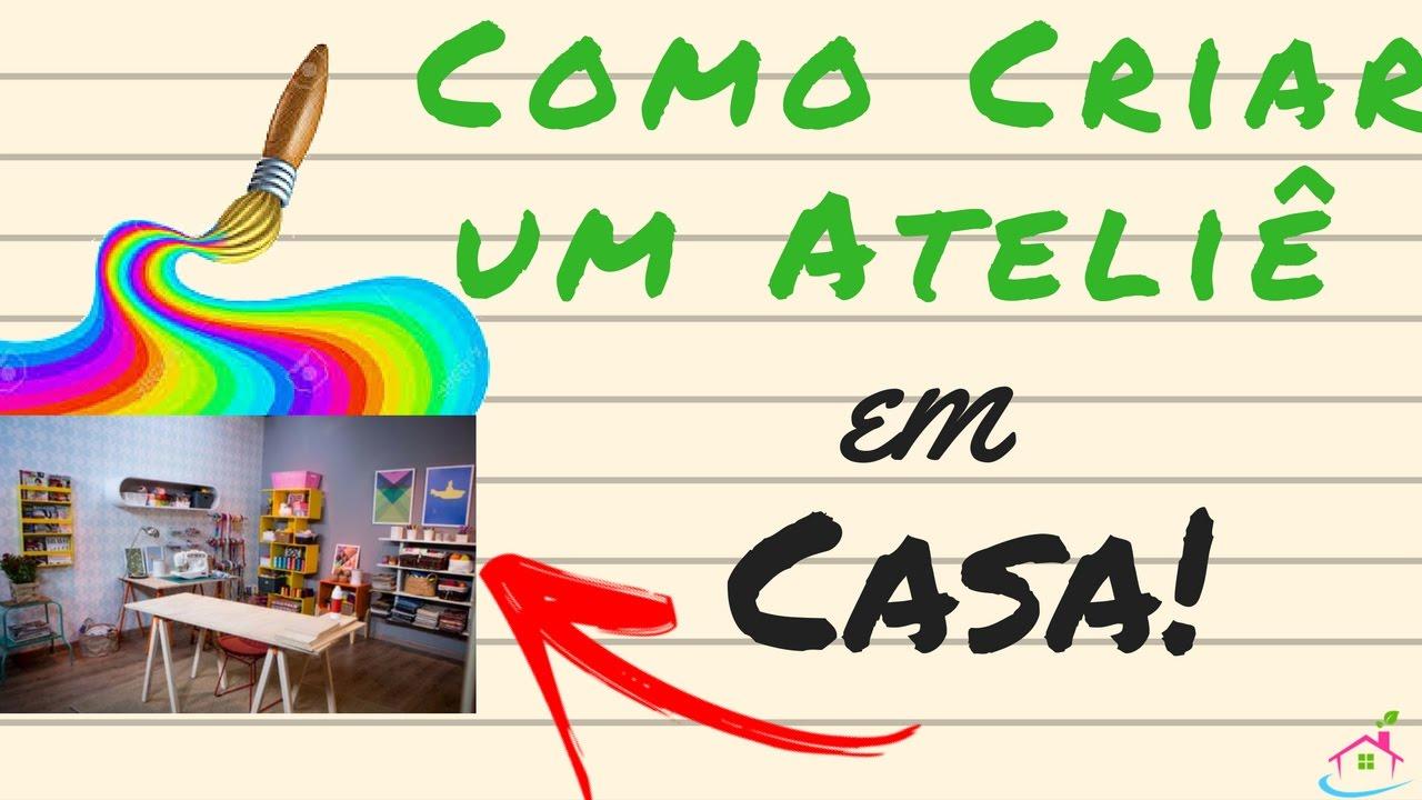 Aparador Moderno Comedor ~ Ateli u00ea de Artesanato em CASA Marketing Criativo para Artesanato YouTube
