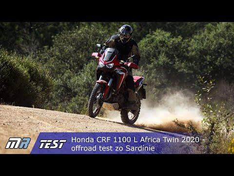 Honda CRF 1100 L Africa Twin 2020 - Offroad Test Zo Sardínie - Motoride.sk