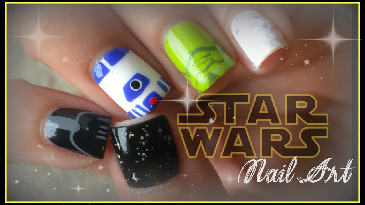 - Star Wars Nail Art - YouTube