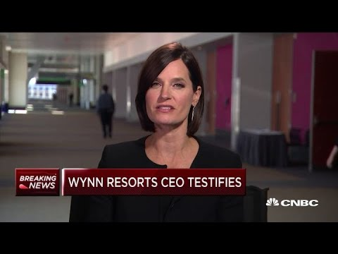 Wynn Resorts CEO Matt Maddox testifies in Boston