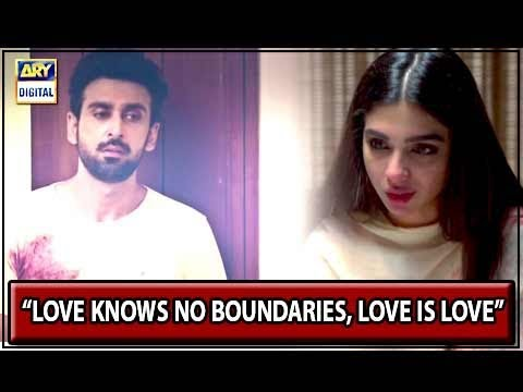 """Love knows no boundaries, love is love""  - Aisi Hai Tanhai"