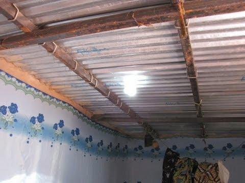 Solar bottle skylight in Niger, Africa
