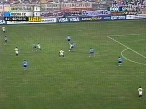 UNIVERSITARIO 1 ROCHA FC 1