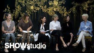 Iris van Herpen Haute Couture - Autumn / Winter 2017 Panel Discussion