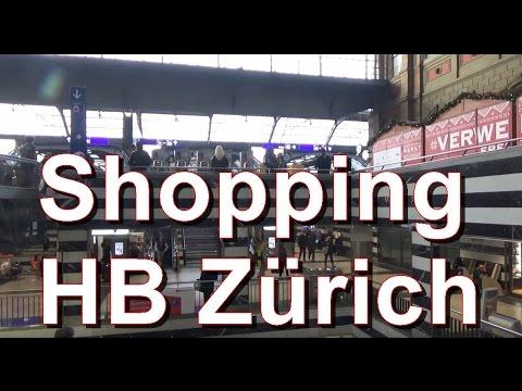 Shopping Center am Hauptbahnhof Zürich (Christmas Time) Switzerland