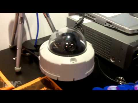 InfoComm 2013: ScanSource Security Talks About Panasonic WV-SW355 Security Camera
