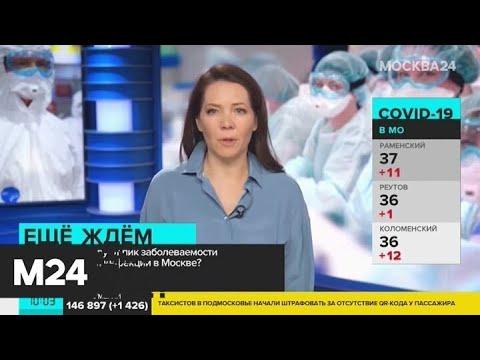 Когда прогнозируют пик заболеваемости коронавирусом в Москве? - Москва 24