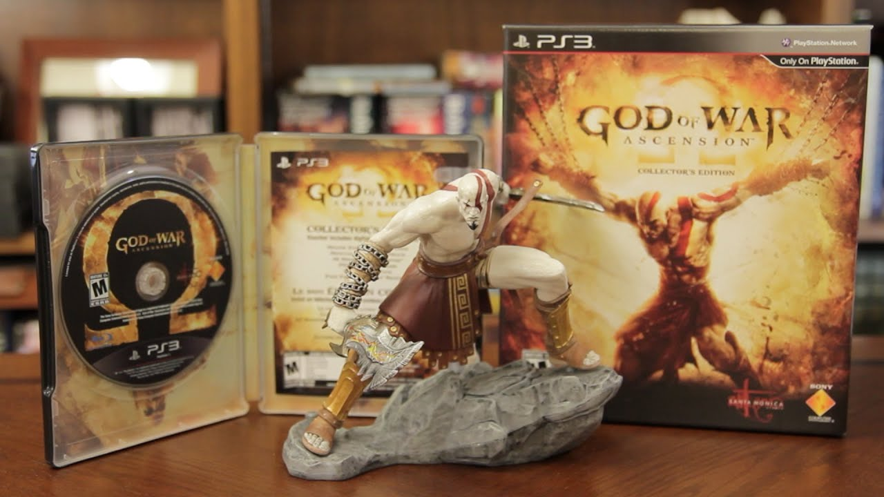 Unboxing God Of War Ascension Collector S Edition Youtube