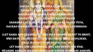Sri Rama Raksha Stotram.